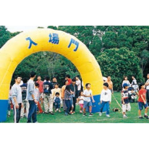 エアアーチ3m(半円)