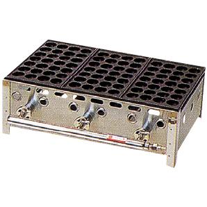 タコ焼き器(LPガス用) 84個用